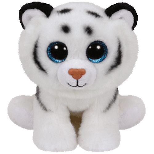 TY Beanie Babies - Tundra - bílý tygřík 42106 - 15 cm plyšák TY Inc. ( Meteor )