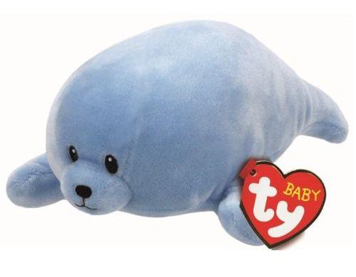 TY Beanie Baby - Squirt - modrý tuleň 32160 - 15 cm plyšák TY Inc. ( Meteor )