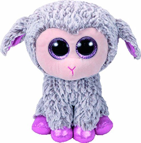 TY Beanie Boos - Dixie - šedá ovečka 37257- 24 cm plyšák TY Inc. ( Meteor )