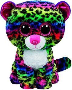 TY Beanie Boos - Dotty  XL - duhový leopard   99997  - 62 cm plyšák