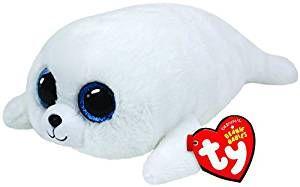 TY Beanie Boos - ICY - bílý tuleň 36164 - 15 cm plyšák TY Inc. ( Meteor )