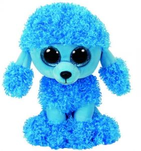 TY Beanie Boos - Mandy - modrý pudlík    37263 - 24 cm plyšák