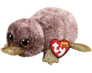TY Beanie Boos - Perry - hnědý ptakopysk  36218  - 15 cm plyšák