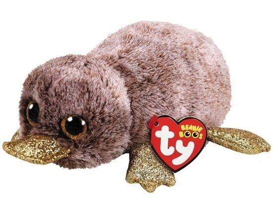 TY Beanie Boos - Perry - hnědý ptakopysk 36218 - 15 cm plyšák TY Inc. ( Meteor )