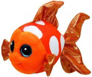 TY Beanie Boos - Sami - oranžová ryba    37146 - 24 cm plyšák