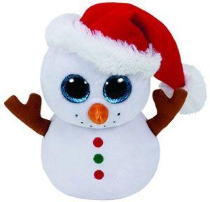 TY Beanie Boos - Scoop - sněhulák  37195  - 15 cm plyšák