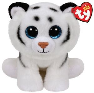 TY Beanie Boos - Tundra - bíý tygr   90219 - 24 cm plyšák
