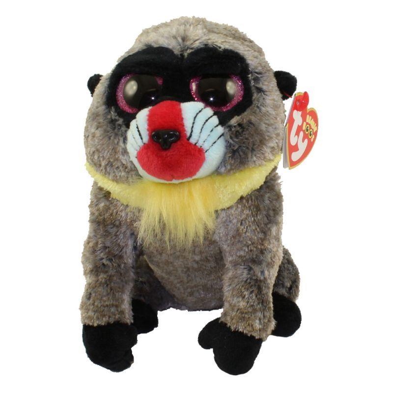 TY Beanie Boos - Wasabi - pavián 36421 - 24 cm plyšák TY Inc. ( Meteor )