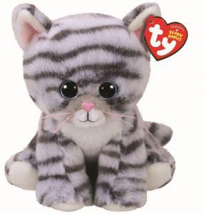 TY Beanie  - Millie - šedá mourovaná kočička   42304  - 15 cm plyšák