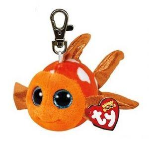TY - Plyšový přívěšek - rybka Sami  s velkýma očima  8,5 cm