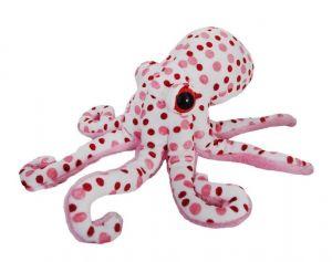 BEPPE - plyšová chobotnice 30  cm  - bílá  13375