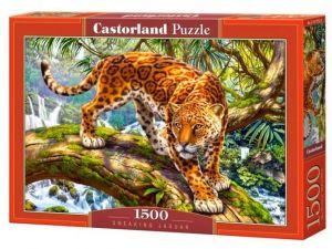 Castorland  Puzzle 1500 dílků Jaguár 151752