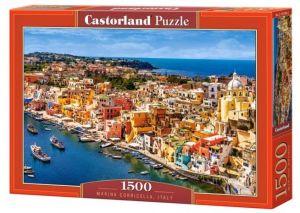 Castorland  Puzzle 1500 dílků Přístav Corricella - Itálie  151769