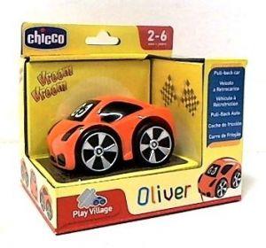 CHICCO Autíčko turbo touch - Oliver - oranžové