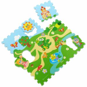Chicco Puzzle koberec  Zámek  9 dílů