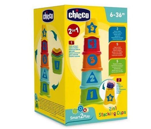 Chicco - věž z kelímků 2 v 1
