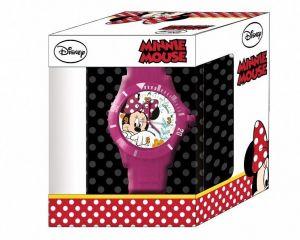 Dětské hodinky - analogové v dárkové krabičce  - Minnie Mouse