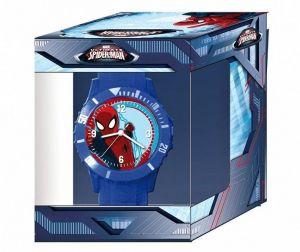 Dětské hodinky - analogové v dárkové krabičce  - Spiderman