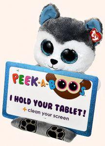 Meteor TY - Peek a Boos - držák na tablet - pejsek haski Scout 60000 TY Inc. ( Meteor )