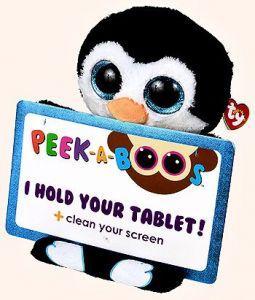 Meteor TY - Peek a Boos - držák na tablet - tučňák Penni 60003 TY Inc. ( Meteor )