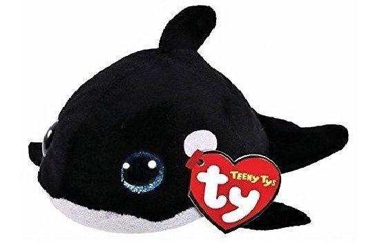 Plyšák TY - Teeny Ty´s - malá plyšová zvířátka - kosatka Orville 10 cm TY Inc. ( Meteor )