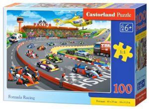 Puzzle Castorland 100 dílků premium  - Formula racing  111046