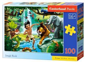 Puzzle Castorland 100 dílků premium  - Kniha džunglí  111022