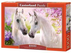 Puzzle Castorland  1000 dílků - Bílí koně    104147