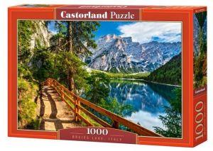 Puzzle Castorland  1000 dílků - jezero Braies - Itálie     104109