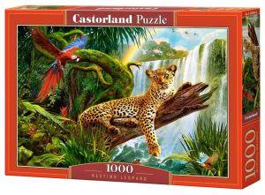 Puzzle Castorland  1000 dílků - Leopard    104093