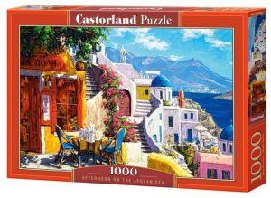 Puzzle Castorland  1000 dílků - Odpoledne u Egejského moře  104130