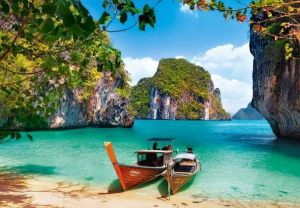 Puzzle Castorland 1000 dílků - ostrov Ko Phi Phi Thajsko 104154