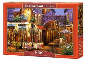 Puzzle Castorland 1000 dílků - Večer v Provence 104123
