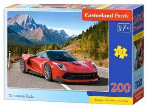 Puzzle Castorland 200 dílků premium  - Auto v horách   222049