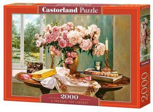 Puzzle Castorland 2000 dílků  Dárek pro Lindsey   200719