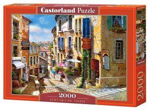 Puzzle Castorland 2000 dílků  Saint Emilion - Francie   200740