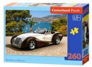 Puzzle Castorland 260 dílků - Roadster na Riviéře  27538
