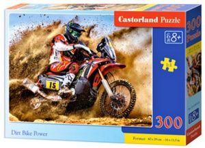 Puzzle Castorland 300 dílků - Motocros  030354