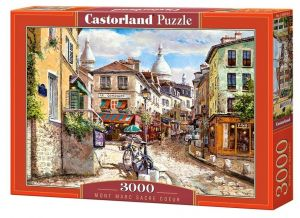 Puzzle Castorland 3000 dílků  - Mont Marc Sacre Coeur  300518