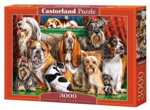 Puzzle Castorland 3000 dílků  - Psí klub  300501
