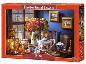 Puzzle Castorland 500 dílků - Čas na čaj  53070
