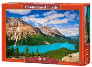 Puzzle Castorland 500 dílků - Jezero Peyto - Kanada   53056