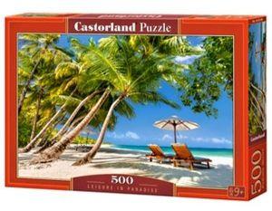 Puzzle Castorland 500 dílků - Odpočinek v ráji   53100