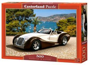 Puzzle Castorland 500 dílků - Roadster na Riviéře   53094
