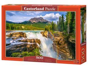 Puzzle Castorland 500 dílků - Sunwapta - vodopády na řece Alberta  Kanada  53117