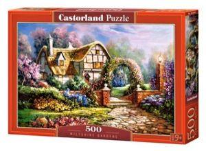 Puzzle Castorland 500 dílků - Zahrada ve Witshire  53032