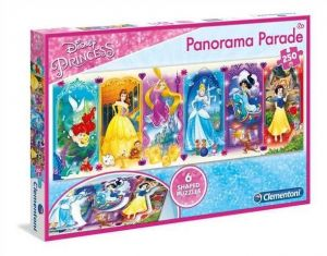Puzzle Clementoni 250 dílků - Panorama -  Princezny   29750