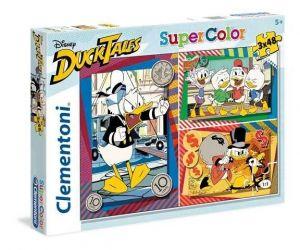Puzzle Clementoni  - 3 x 48 dílků  - Kačer Donald  25226