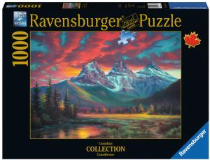 Puzzle Ravensburger 1000 dílků -  Tři sestry   197361