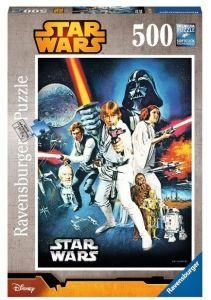 puzzle Ravensburger  500 dílků -  Star Wars . Nová naděje -  146628